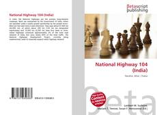 Bookcover of National Highway 104 (India)