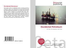 Обложка Occidental Petroleum