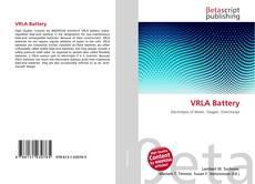 Bookcover of VRLA Battery