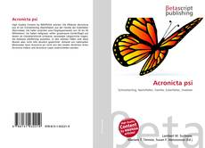 Bookcover of Acronicta psi
