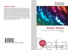 Buchcover von Ramblin' Thomas