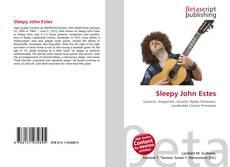 Sleepy John Estes的封面