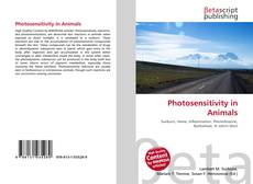 Bookcover of Photosensitivity in Animals