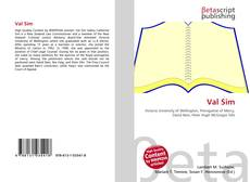 Bookcover of Val Sim