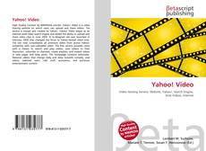 Bookcover of Yahoo! Video