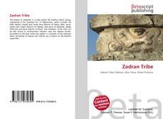 Bookcover of Zadran Tribe