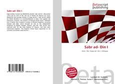 Bookcover of Sabr ad- Din I