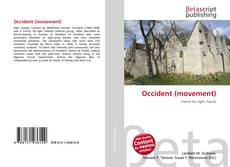 Bookcover of Occident (movement)