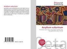 Обложка Acryllium vulturinum