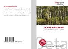 Buchcover von Ackerfrauenmantel