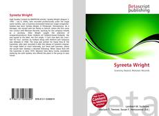 Bookcover of Syreeta Wright