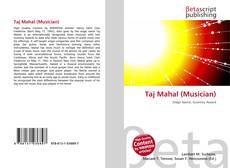 Bookcover of Taj Mahal (Musician)