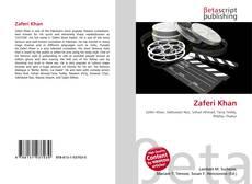 Bookcover of Zaferi Khan