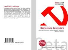 Copertina di Democratic Centralism