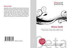 Bookcover of Khoso Goth