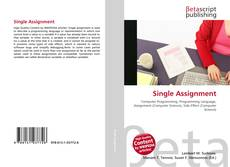 Capa do livro de Single Assignment