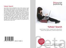 Bookcover of Yahoo! Search
