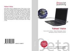 Bookcover of Yahoo! Voice