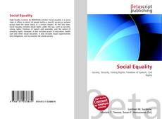 Buchcover von Social Equality
