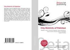 City Districts of Pakistan kitap kapağı
