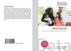 Portada del libro de Nikah Mut'ah