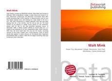 Bookcover of Walt Mink