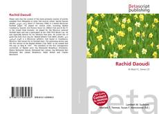 Bookcover of Rachid Daoudi
