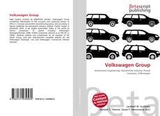 Portada del libro de Volkswagen Group