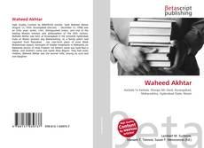 Waheed Akhtar的封面