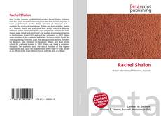 Rachel Shalon kitap kapağı