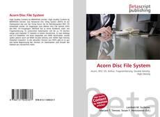 Couverture de Acorn Disc File System