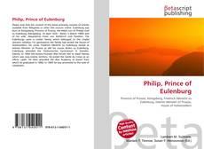 Обложка Philip, Prince of Eulenburg