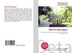Bookcover of XM214 Microgun