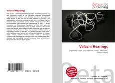 Bookcover of Valachi Hearings