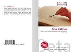 Bookcover of Zafar Ali Khan