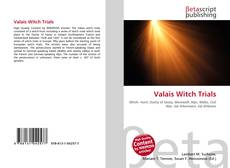 Bookcover of Valais Witch Trials