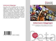 Capa do livro de Ackermann-Göggingen