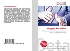 Bookcover of Yevgeny Primakov