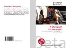 Portada del libro de Volkswagen Plattenwagen