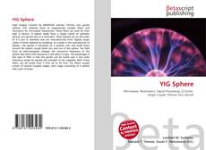 Bookcover of YIG Sphere