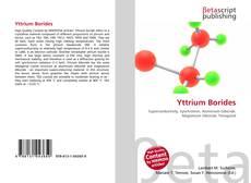 Capa do livro de Yttrium Borides