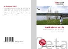 Обложка Acridotheres tristis