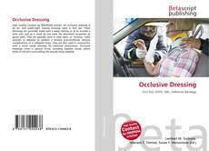 Bookcover of Occlusive Dressing