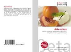 Bookcover of Ackerminze