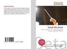 Buchcover von Snuff the Punk