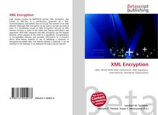 Bookcover of XML Encryption