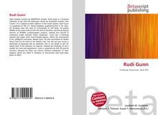 Rudi Gunn kitap kapağı