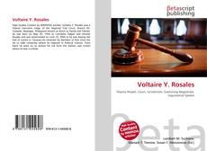 Bookcover of Voltaire Y. Rosales