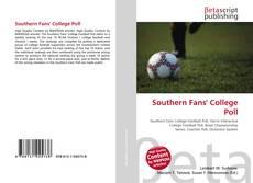 Buchcover von Southern Fans' College Poll