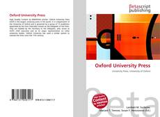 Обложка Oxford University Press